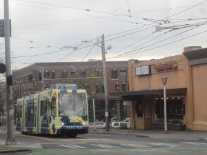 New streetcar on Jackson